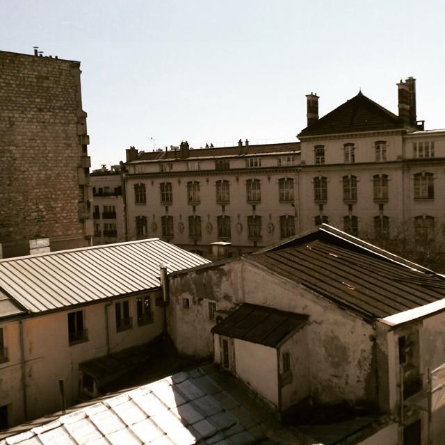 View from hotel near the Graffiti Street