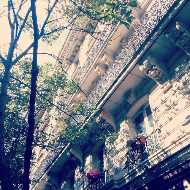 Balconies, Paris, France #parisfrance #paris #france #beauty #love #parisjetaime #parisphoto #parismonamour #europe #city #igersfrance #topparisphoto #wanderlust #travel  #parismaville #ig_france  #parisian #parislove #cityscape #french #architecture #architectureporn #summer #balconies #balcony #sky #vsco #vscocam #vscogrid #building